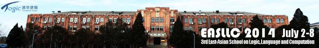 EASLLC 2014   The Third East-Asian School on Logic, Language and Computation